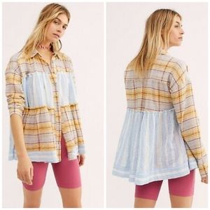 Free people We The Free Waiting On Summer Tunic